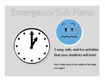Emergency Substitute Packet