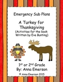 Emergency Substitute Plans: A Turkey for Thanksgiving