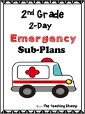 Emergency Substitute Plans for 2nd grade (2 days)
