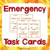 Emergency? Task Cards