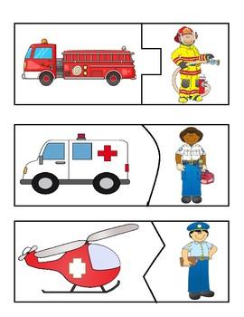 Emergency Vehicle/Helper Match