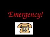 Emergency, community helpers, safety