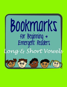 Emergent & Beginning Reader Bookmark