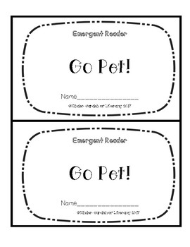 Emergent Book-Go Pet!