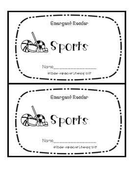 Emergent Book-Sports