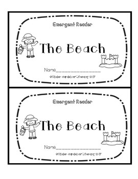 Emergent Book-The Beach