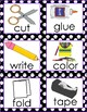 Emergent/ ELL Visual Direction Picture Cards
