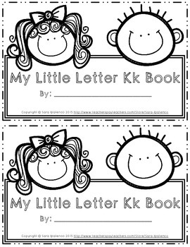 Emergent Easy Interactive Alphabet Reader Book: Letter Kk