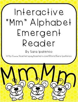 Emergent Easy Interactive Alphabet Reader Book: Letter Mm