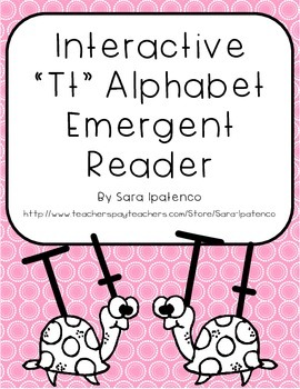 Emergent Easy Interactive Alphabet Reader Book: Letter Tt