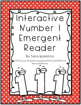 Emergent Easy Interactive Number Book: Number 1