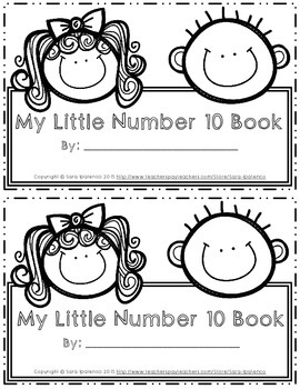 Emergent Easy Interactive Number Book: Number 10