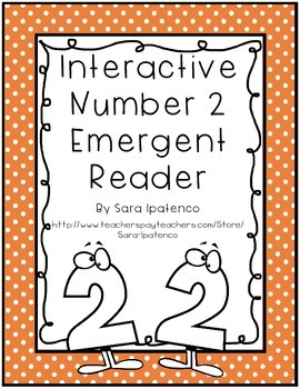 Emergent Easy Interactive Number Book: Number 2