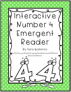 Emergent Easy Interactive Number Book: Number 4