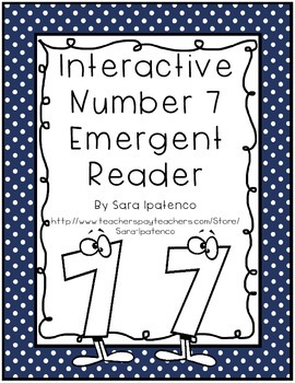 Emergent Easy Interactive Number Book: Number 7