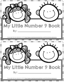 Emergent Easy Interactive Number Book: Number 9