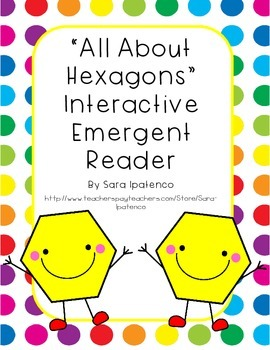 Emergent Easy Interactive Reader Book: Shapes: Hexagon