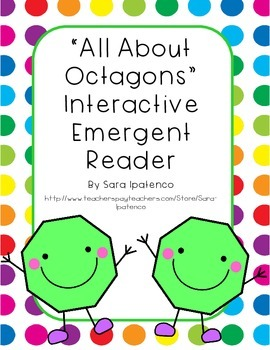 Emergent Easy Interactive Reader Book: Shapes: Octagon