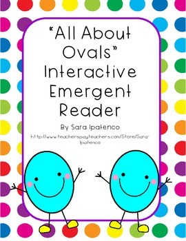 Emergent Easy Interactive Reader Book: Shapes: Oval