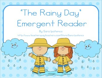 """Emergent Easy Reader: """"A Rainy Day"""""""