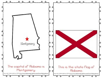 "Emergent Easy Reader Book: ""Alabama"""