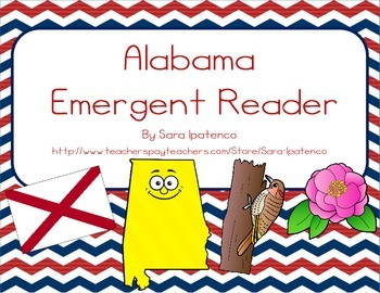 "Emergent Easy Reader Book: ""Alabama"""