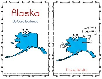 "Emergent Easy Reader Book: ""Alaska"""