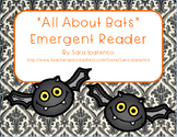 """Emergent Easy Reader Book: """"All About Bats"""""""