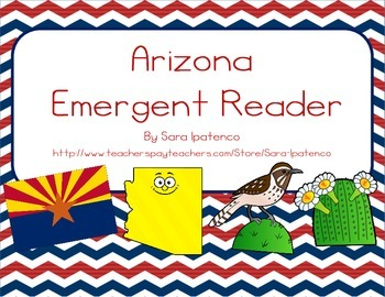 "Emergent Easy Reader Book: ""Arizona"""
