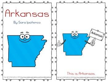"Emergent Easy Reader Book: ""Arkansas"""