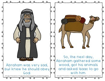"""Emergent Easy Reader Book: """"Abraham and Isaac"""""""