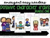 Emergent Easy Reader Book Bundle: Christian Character Traits