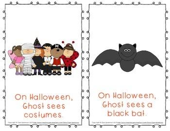 Emergent Easy Reader Book Bundle: Halloween Theme
