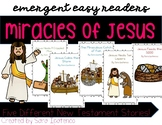Emergent Easy Reader Book Bundle: Miracles of Jesus