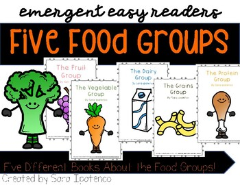 "Emergent Easy Reader Book Bundle: Nutrition: ""The Food Groups"""