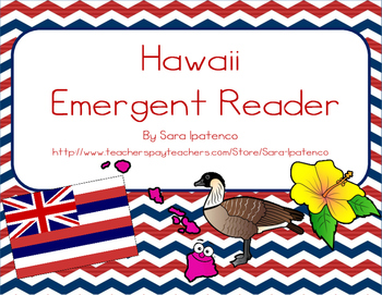 "Emergent Easy Reader Book: ""Hawaii"""