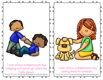 """Emergent Easy Reader Book: """"I Can Show Compassion"""""""