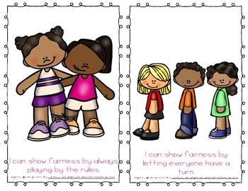 """Emergent Easy Reader Book: """"I Can Show Fairness"""""""