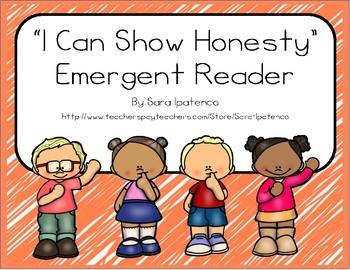"Emergent Easy Reader Book: ""I Can Show Honesty"""