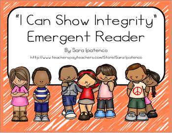 "Emergent Easy Reader Book: ""I Can Show Integrity"""