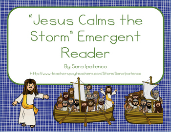 "Emergent Easy Reader Book: ""Jesus Calms the Storm"""