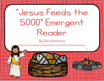 "Emergent Easy Reader Book: ""Jesus Feeds the 5000"""