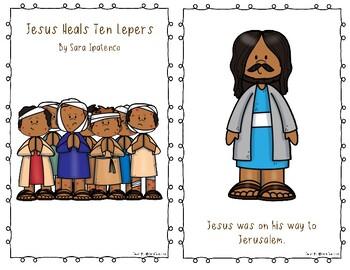 """Emergent Easy Reader Book: """"Jesus Heals Ten Lepers"""