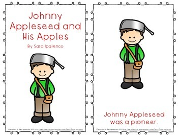 "Emergent Easy Reader Book: ""Johnny Appleseed and His Apples"""