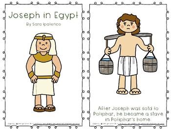 """Emergent Easy Reader Book: """"Joseph in Egypt"""""""