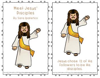 """Emergent Easy Reader Book: """"Meet Jesus' Disciples"""""""