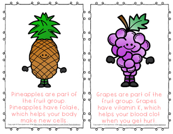 "Emergent Easy Reader Book: Nutrition: ""The Fruit Group"""