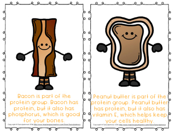 """Emergent Easy Reader Book: Nutrition: """"The Protein Group"""""""