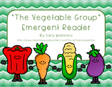 """Emergent Easy Reader Book: Nutrition: """"The Vegetable Group"""""""