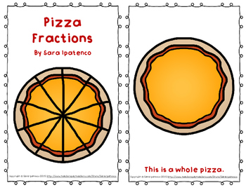 "Emergent Easy Reader Book: ""Pizza Fractions"""